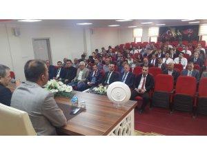 Muş İl Milli Eğitim Müdürü Engin, okul müdürleri ile toplantı yaptı