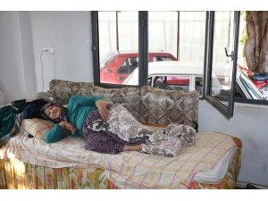Fatma Teyze'nin hasta yatağı Büyükşehir'den