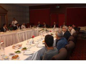 Elazığ'da 'Orcik ve Bağ Bozumu Festivali' toplantısı