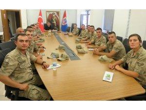 Bayburt'ta jandarma personeline avcılık mevzuatı eğitimi verildi