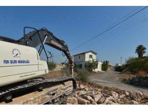 Ermenek'e yeni yollar açılması için çalışmalara başlandı