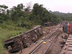 Kongo'da tren faciası:50 ölü