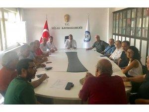 Milas Zeytin Hasat Şenliği üst kurul toplantısı gerçekleştirildi