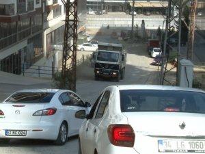 Trabzon'da kazaya davetiye çıkaran yol!