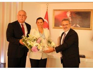 Aydın'ın ahileri Başkan Çerçioğlu'nu ziyaret etti