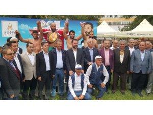 Kayseri Şeker'den Türkiye Karakucak Güreş Şampiyonası'na Tam Destek