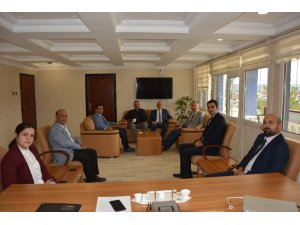 Rektör Levent'ten Başkan Gültekin'e ziyaret