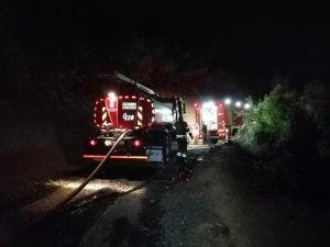 Beykoz da korkutan orman yangını