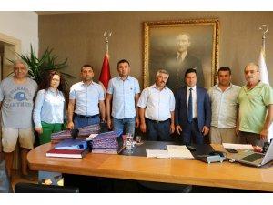 Çamköylüler, Bodrum Belediye Başkanı Ahmet Aras'tan destek istedi