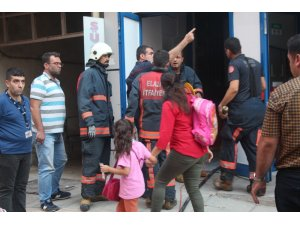 Elazığ'da depo yangını