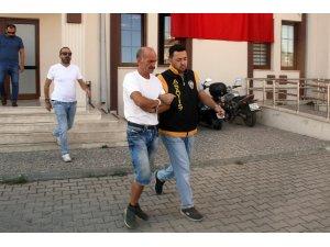 Denetimli serbestlikten yararlanan  şahıs hırsızlıktan tutuklandı