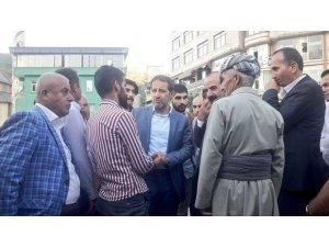 AK Parti heyetinden Şemdinli ve Derecik'e ziyaret
