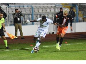 TFF 1. Lig: B.B. Erzurumspor: 2 - Adanaspor: 1