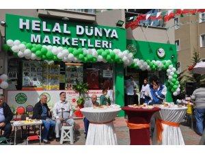 Helal Dünya Marketleri'nin ikinci şubesi açıldı