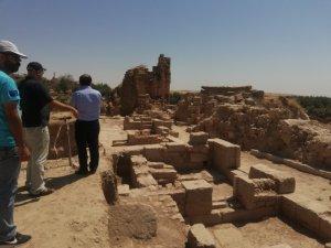 Dara Antik Kenti'nde tarihi surlar gün yüzüne çıkarılıyor