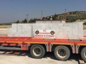 Zeytin Dalı Gümrük Kapısı'nda 33 bin paket kaçak sigara ele geçirildi