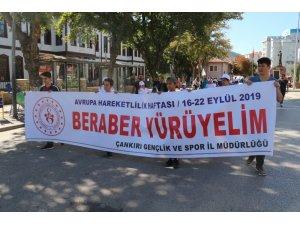 """""""Birlikte Yürüyelim"""" temalı yürüyüş gerçekleştirildi"""