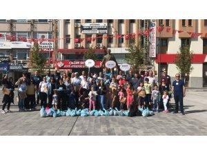 SEDAŞ ekipleri farkındalık oluşturmak için çöp topladı