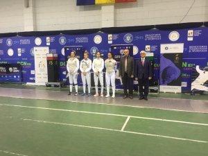 İrem Karamete Bükreş'te bronz madalya kazandı