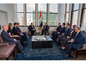 Irak Cumhurbaşkanı Salih, Pompeo ile görüştü