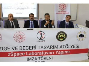 DTSO AR-GE Beceri ve Tasarım Atölyesi Projesi için imza töreni düzenlendi