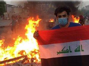 Irak diken üstünde!  Ölü sayısı artıyor, sokağa çıkmak yasak...