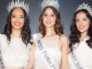 Miss Turkey 2019'un kraliçesi 'Simay Rasimoğlu' oldu