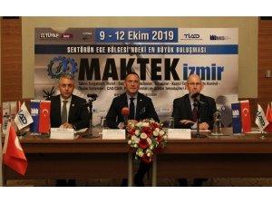 Makine sektörü MAKTEK Fuarı kapsamında ikinci kez İzmir'de