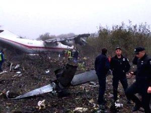 İstanbul yolundaki kargo uçağı Ukrayna'da düştü