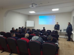 Asfalt ekibine teknoloji eğitimi