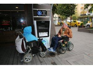 Hamamyolu'na engelli aracı şarj istasyonu