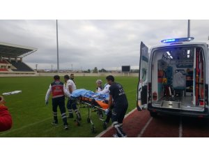 Kazara kendini vuran şahıs ağır yaralandı