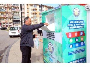 Sivas'ta 1 yılda 193 bin 399 ton atık toplandı