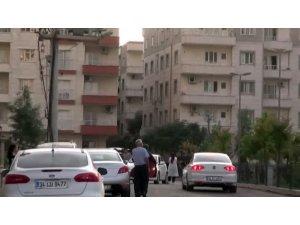 Kamışlı'dan atılan roketler Nusaybin'de bir eve isabet etti