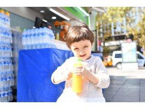 BEİKO Vitamin Büfeleri'nin meyve sularını başkentliler severek tüketiyor