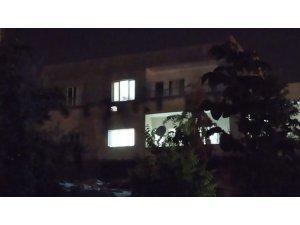 Kamışlı'dan atılan roket boş bir eve isabet etti