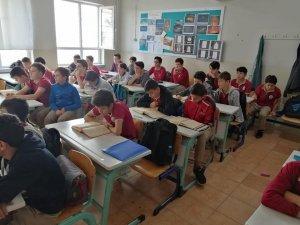 Öğrenciler Barış Pınarı Harekatına dualarla destek oldu