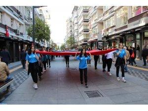 Samsun'da Amatör Spor Haftası yürüyüşü