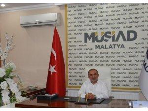 MÜSİAD Malatya Başkanı Muharrem Poyraz'dan Barış Pınarı Harekatı'na destek
