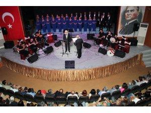 Hatay'da kardeş korolardan konser