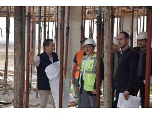 Metin Özöğüt Yaşam ve Bakım Merkezinin yapımı devam ediyor
