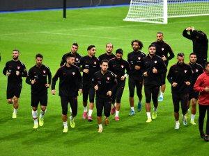 A Milli Futbol Takımı Fransa maçına hazır