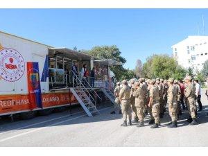 Jandarma personeline, deprem farkındalık eğitimi
