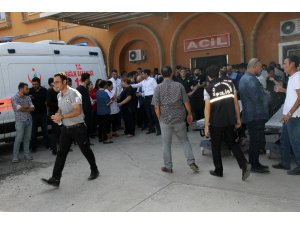 Yaralılar Kızıltepe'deki hastanelere taşınıyor