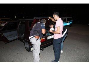 Erzincan'da 90 ekip, 430 polisle asayiş uygulaması yaptı