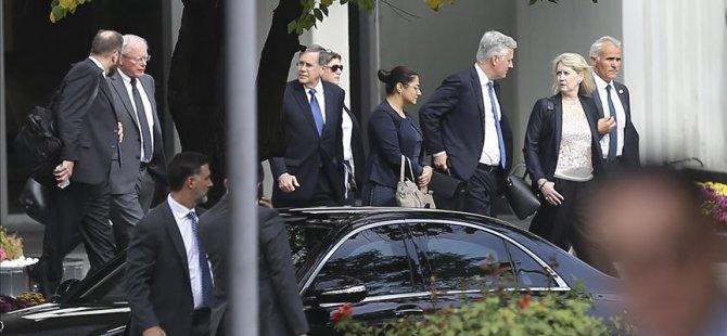 Çavuşoğlu, ABD Ulusal Güvenlik Danışmanı O'Brien ile görüştü