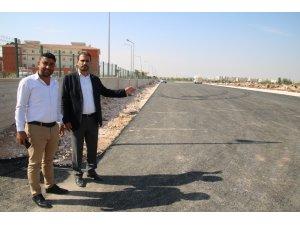 Şanlıurfa'da okul yolları asfaltlandı