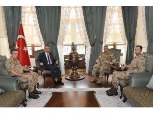 Tümgeneral Koç'dan Vali Soytürk'e ziyaret