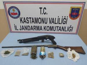 Kastamonu'da uyuşturucu taciri tutuklandı