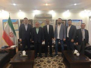 DKİB'den yeni göreve başlayan İran'ın Trabzon Başkonsolosu Saberi'ye ziyaret